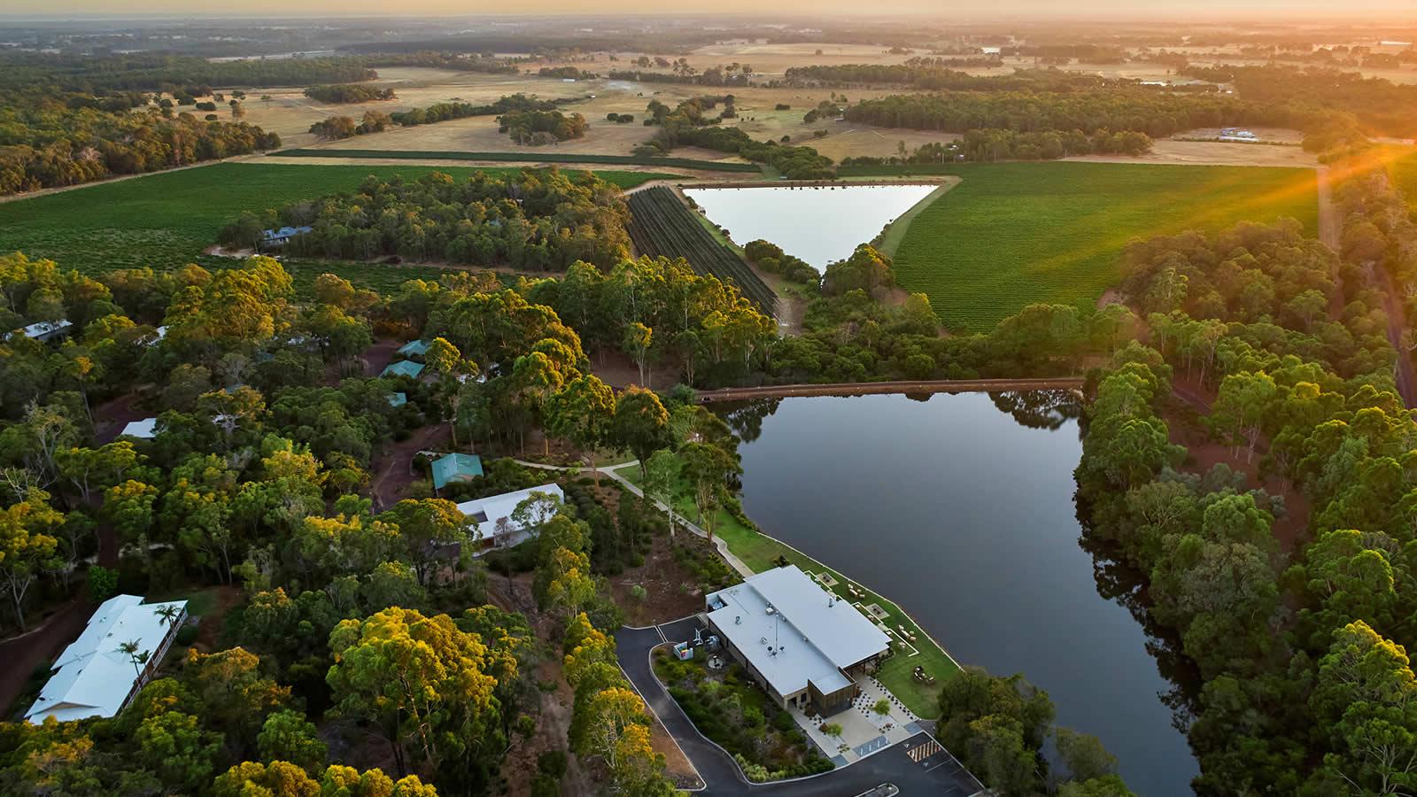 Luxury Retreat Margaret River Drone